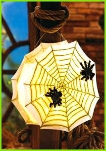 Spinnennetz Laterne Kostenlose Anleitung ✓ Einfach nachzumachen ✓ Material online bestellen ✓ Ausmalbilder