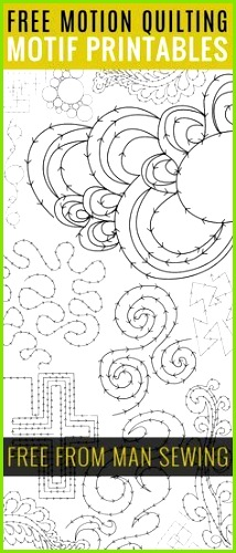 FREE FMQ Motif Printables several &amp quot drills&amp quot to learn new methods From &amp quot MAN SEWING&amp quot who has other tutes and pdfs too
