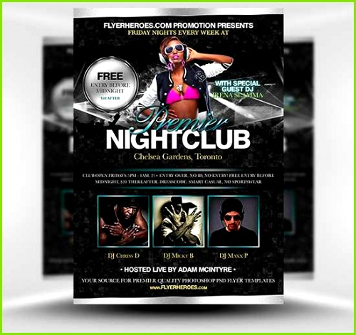 New shop Flyer Templates Professional Nightclub Flyer Wallpaper Unique Poster Templates 0d Wallpapers 46 New Examples