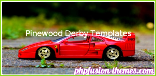 Pinewood Derby Templates Free Download