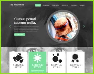 The Modernist Website Template