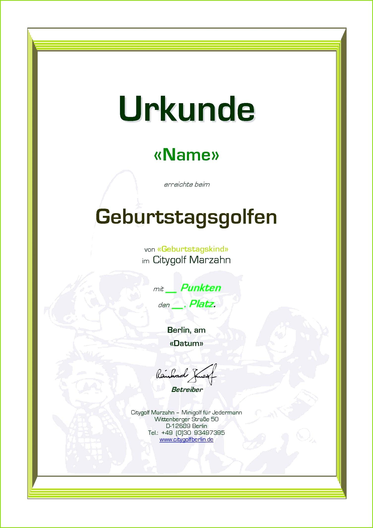 Platz Zertifikat Vorlagen Galerie Entry Level