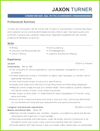Mental Health Technician Resume Best ¢†¶ 32 Patient Care Technician Resume Sample graph
