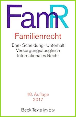 Familienrecht dtv Beck Texte Amazon Dagmar Coester Waltjen Bücher