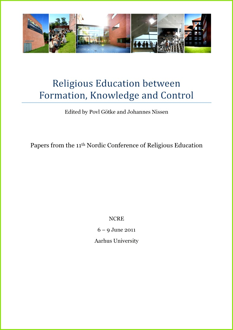 PDF Asare Danso S 2012 Religious education in a democratic state The Ghanaian experience In In Gotke P & Nissen J Eds Religious education
