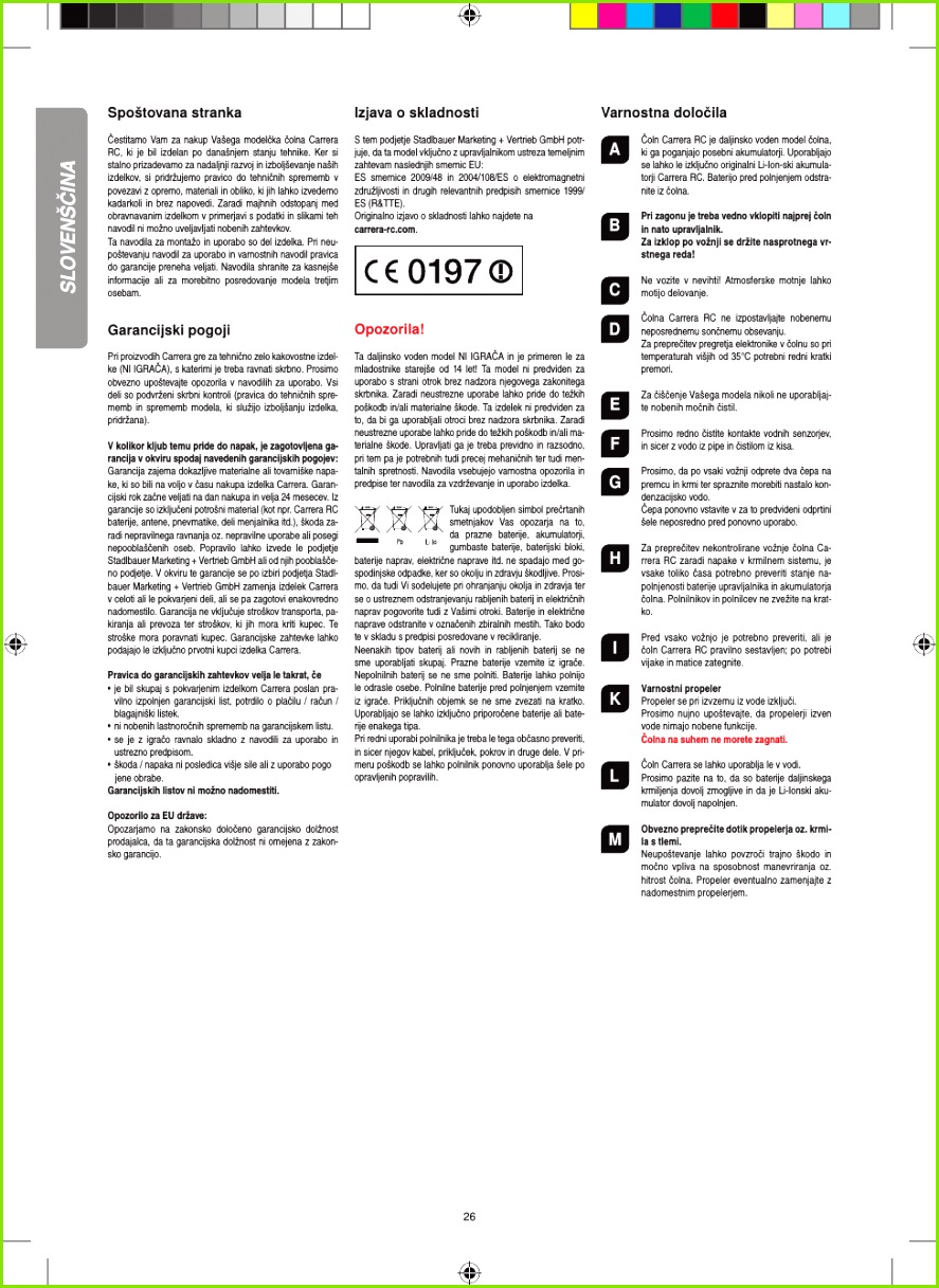 Page 26 of Radio Control Toy Transmitter 2 4GHz User Manual 01
