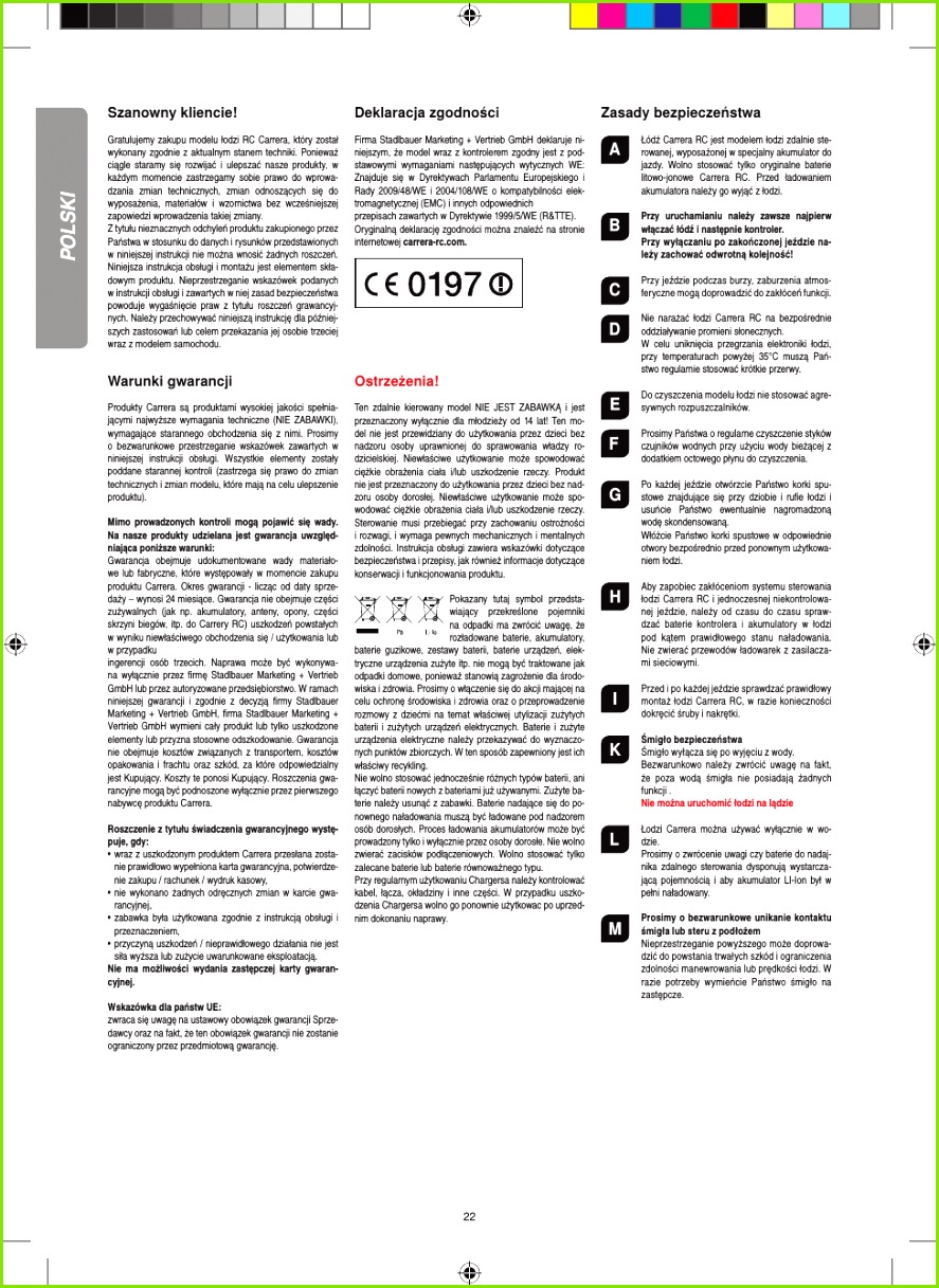 Page 22 of Radio Control Toy Transmitter 2 4GHz User Manual 01