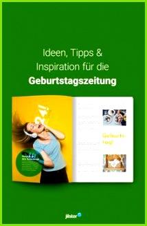 Geburtstagszeitung Ideen Vorlagen & Inspiration