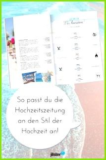 Die Hochzeitszeitung an den Stil der Hochzeit anpassen Jilster Blog