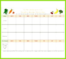 Download Meal Plan Template 02