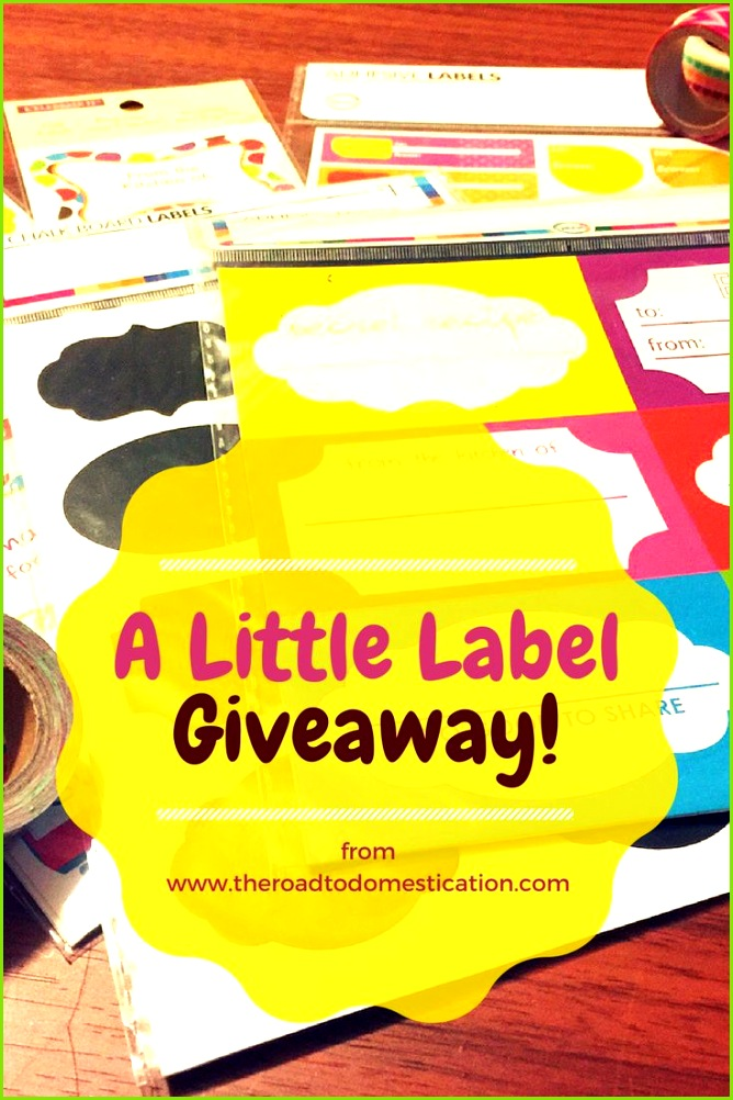 A Little Label Giveaway