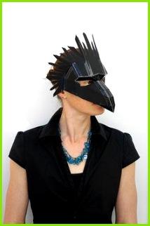 Make your own bird mask par Wintercroft sur Etsy Venezianische Masken Bastelarbeiten Basteln