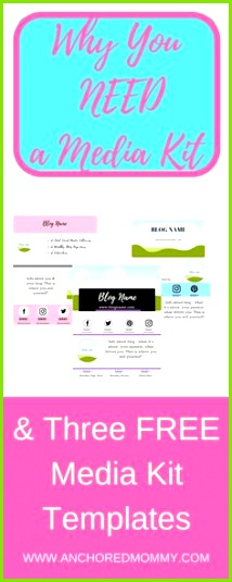 Why Bloggers Need a Media Kit 3 Free Media Kit Templates