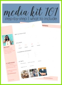 Blog Tips Media Kit