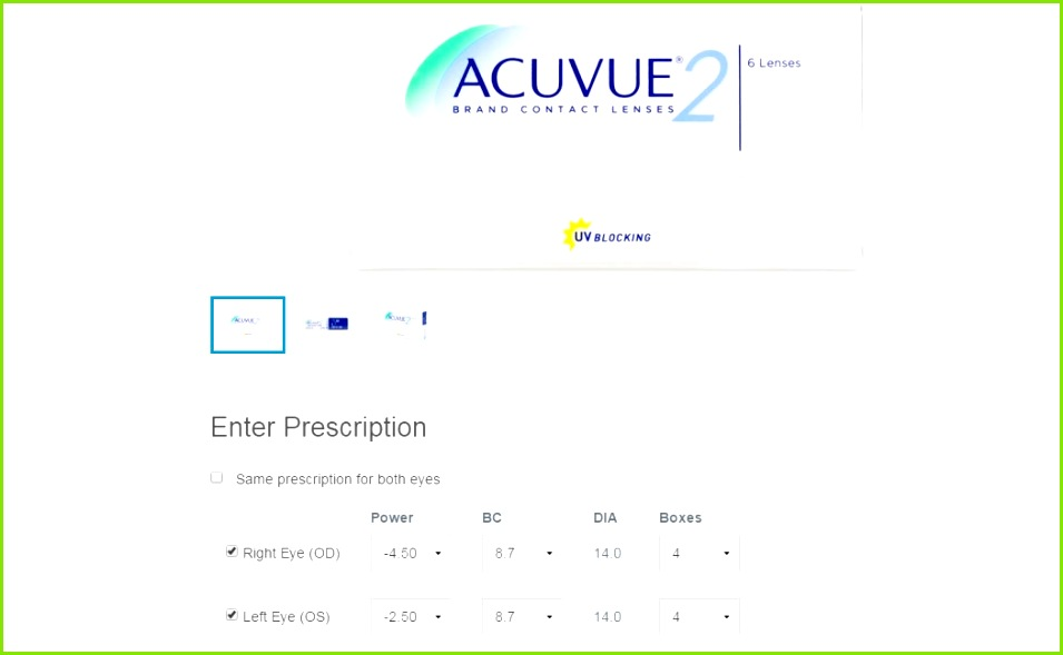 how to read contact lens rx 2