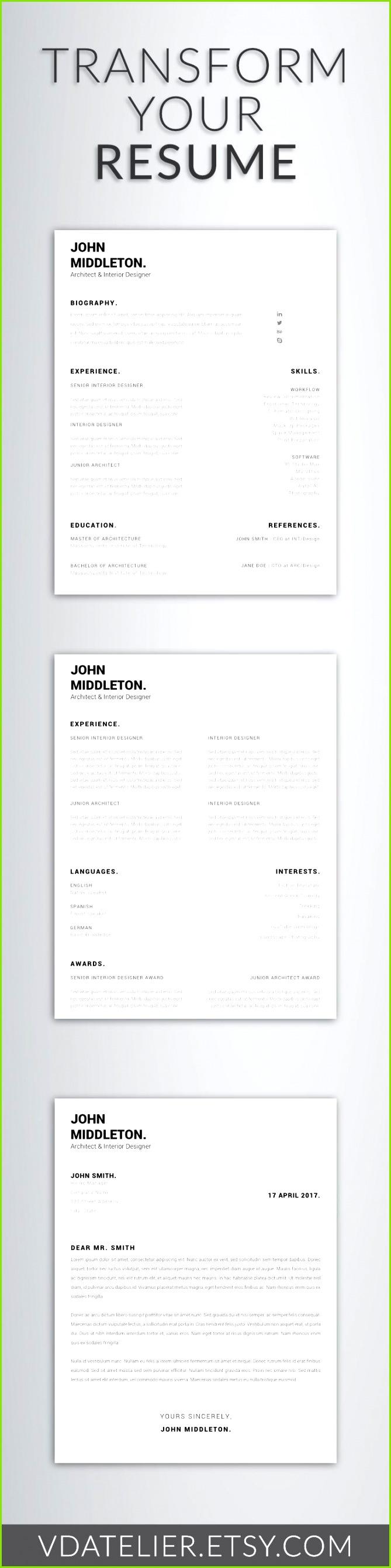 Modern Resume Template Best Inspirational Examples Resumes Ecologist Resume 0d Teacher Resume Modern Resume
