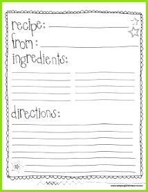 class recipe book template Google Search Druckbare Rezeptkarten Kochbuch Ideen Vorlagen Projekte