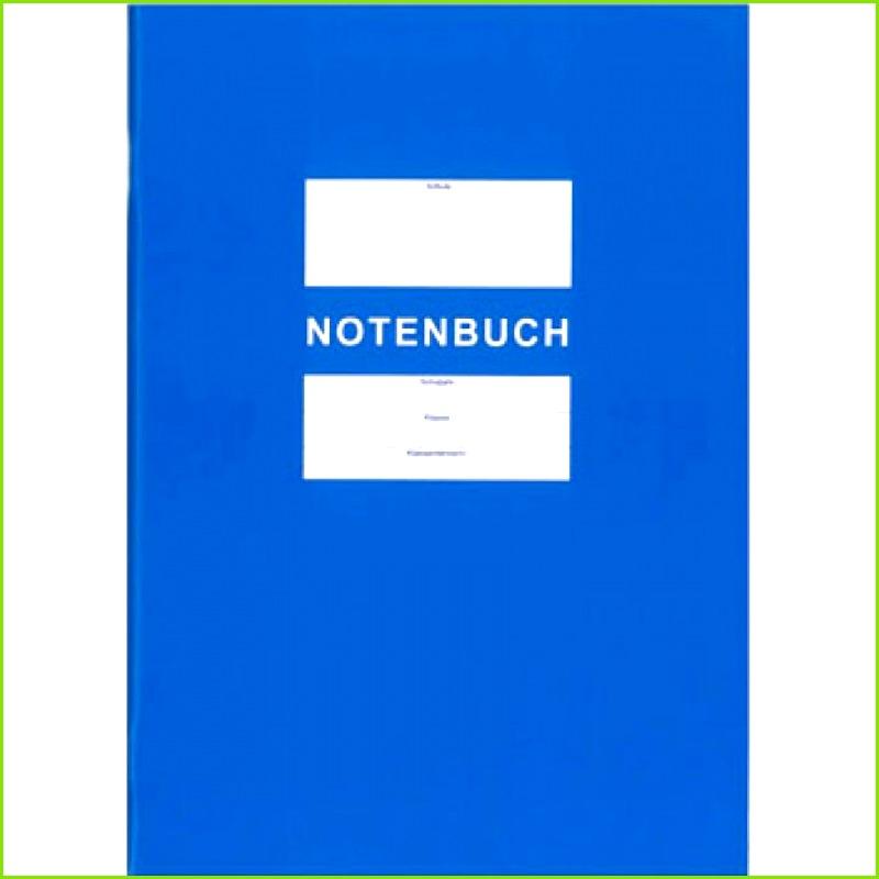 Notenbuch als Anlage zum Klassenbuch DIN A4 FLVG Shop