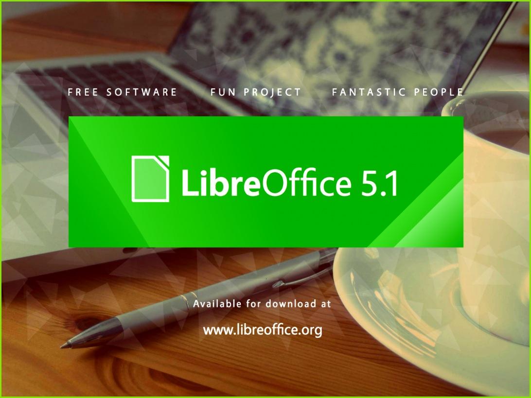 libreoffice 5 1 logo