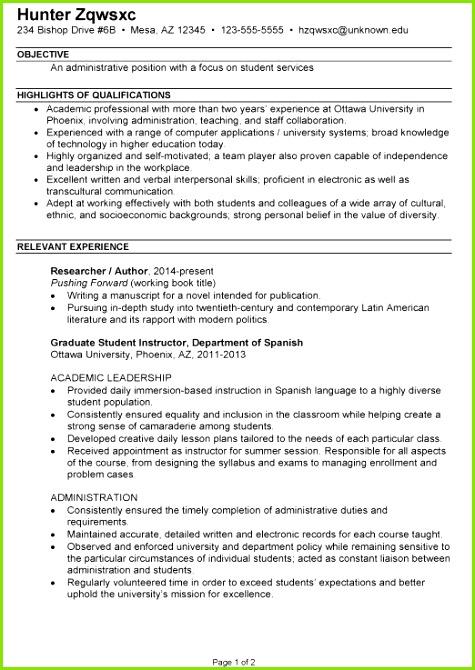 Student Resume Template format Cv Resume Template From American Resume Sample New Student Resume 0d New