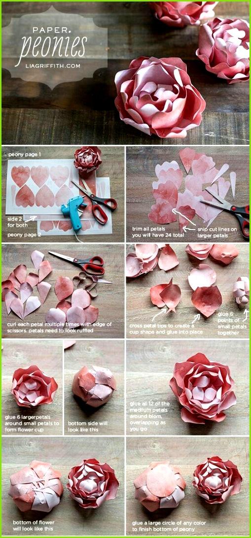 Servietten Blumen Blumen Aus Papier Blumen Basteln Basteln Mit Papier Origami Anleitungen