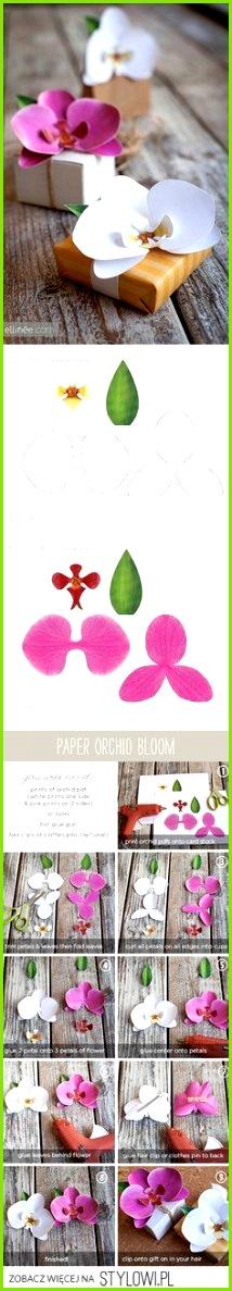 INNE na Stylowi Selbermachen Origami Blumen Verschenken Blumen Basteln Basteln
