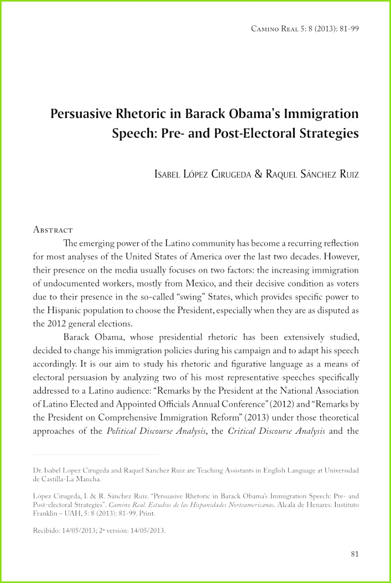 PDF Conceptual metaphor in Michelle Obama s 2012 re election speeches