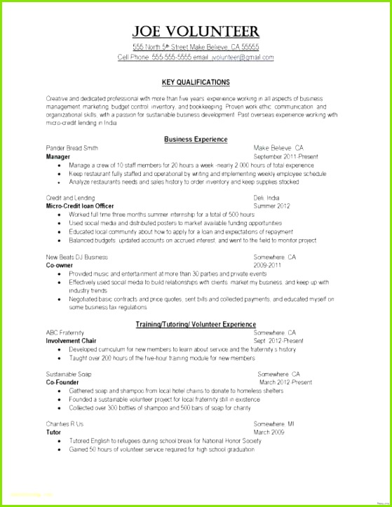 Property Manager Resume Sample – General Manager Resume Sample Fresh Resume Sample Bsw Resume 0d