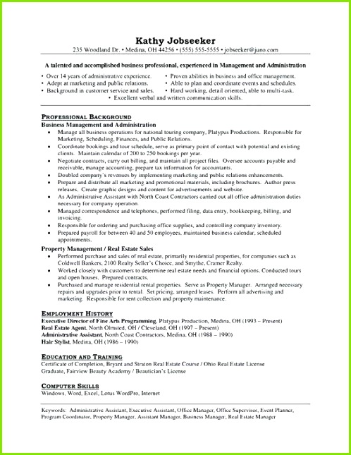 Assistant Property Manager Resume Unique Bsw Resume 0d Property Management Resume Examples Resume Example