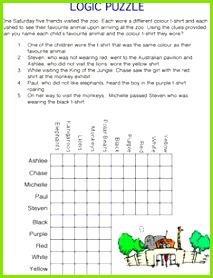 Logic Puzzles Logic Math Adhd Kids Kids Puzzles