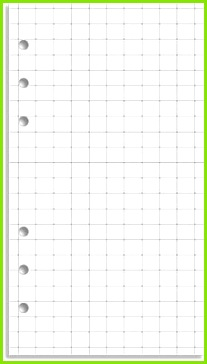My Life All in e Place Download and print grid paper for your Filofax Grid