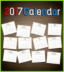 58 beeindruckende 2017 druckbare Kalendervorlagen beeindruckende druckbare kalendervorlagen
