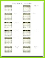 Jährlicher Schulkalender Vorlage zum Ausfüllen von Details zur Hervorhebung von Datumsangaben ausfullen