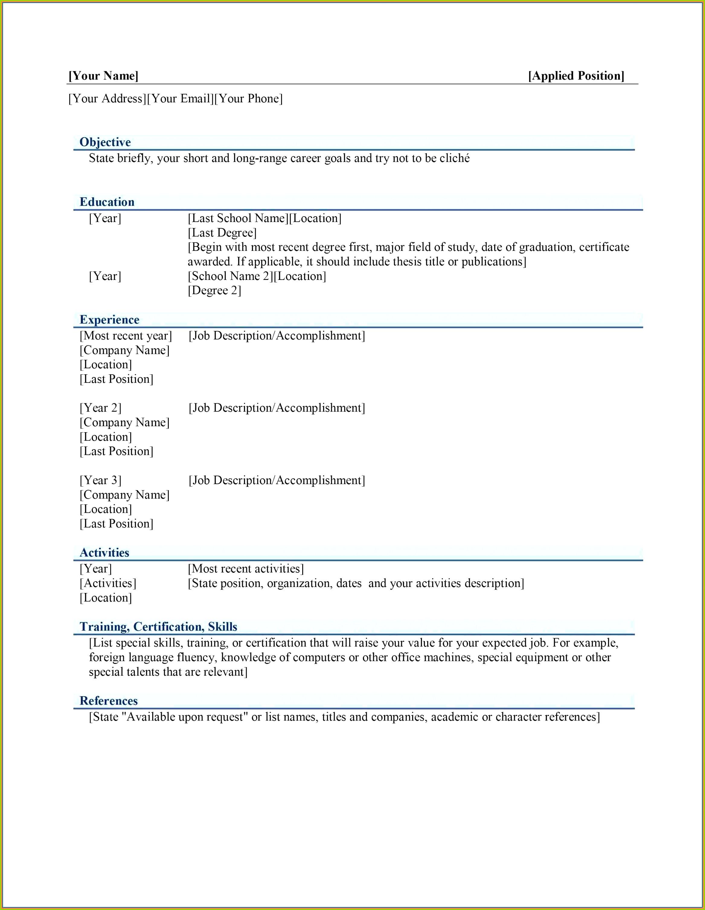 ClipArt Für Den Lebenslauf wunderbar Microsoft Reiseplan Vorlage Zeitgenossisch Das Beste Von Fur Microsoft Word