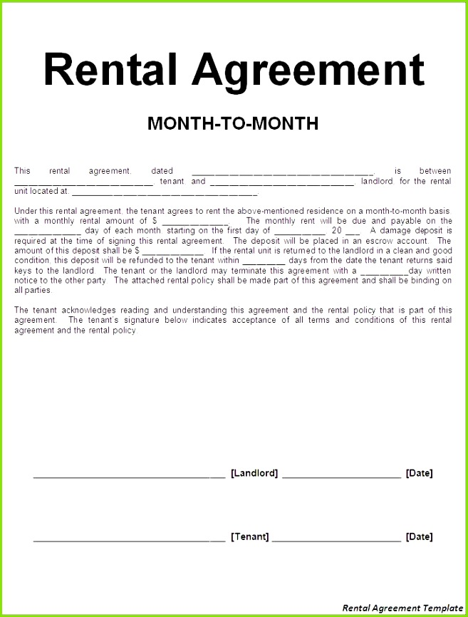 Rental Agreement Template Free Lovely Information Agreement form Beautiful Rental forms 0d – Damwest Agreement