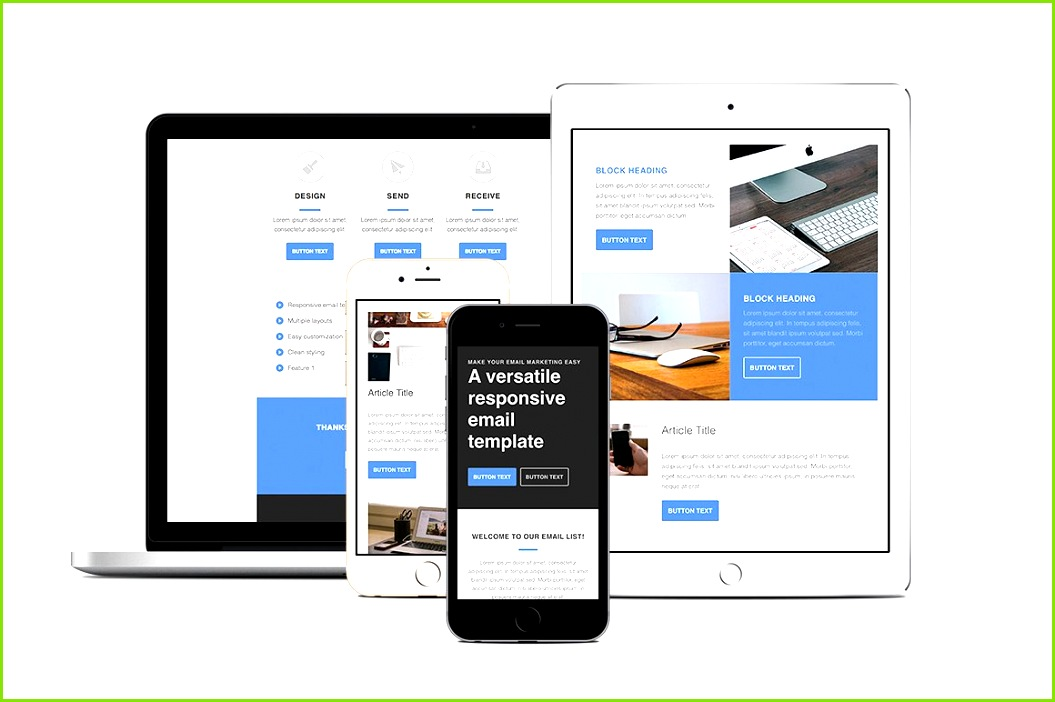responsive email template cm cover