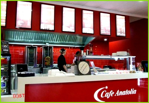 Cafe Anatolia Wanganui The Menu
