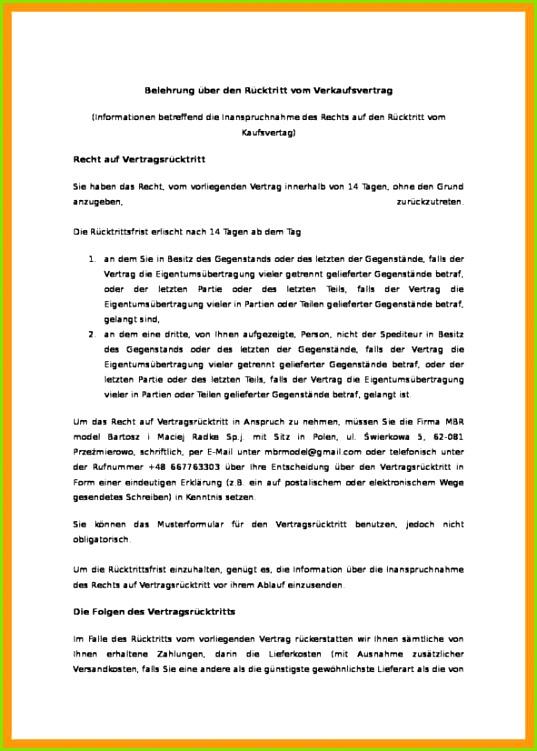 rucktritt email 2018 belehrung c3bcber den rc3bccktritt vom