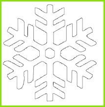 Ausmalbild Schneeflocken und Sterne Kostenlose Malvorlage Schneeflocke 4 kostenlos ausdrucken