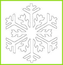 Bildergebnis für schneeflocken malvorlage