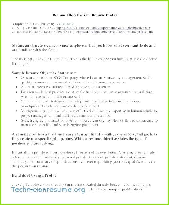 Job Objective Examples Elegant Examples Resume Objectives Administrative Resume Objective Fresh Job Objective Examples Unique