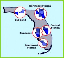 OD Region Map