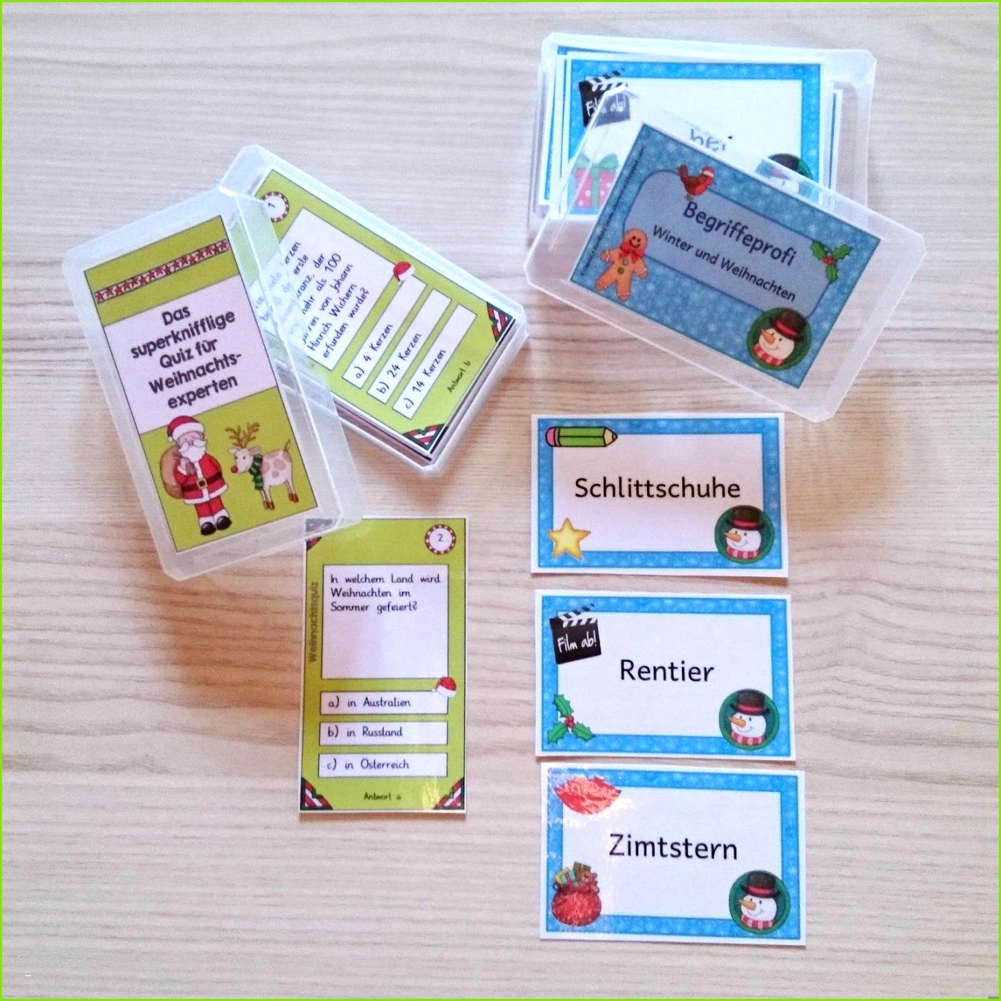 Spielkarten Gestalten Beispiel Kniffliges Weihnachtsquiz 50 Karten Für Letzten Tage Vor Den