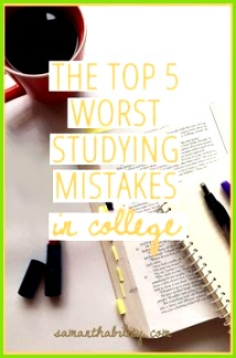 Don t promise your studying with these bad habits Use those don ts