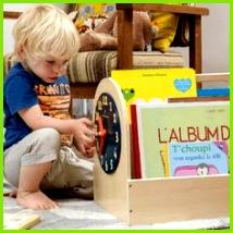Tidy Books Box in Natural Storage Design Shelf Design Childrens Storage Boxes Tidy