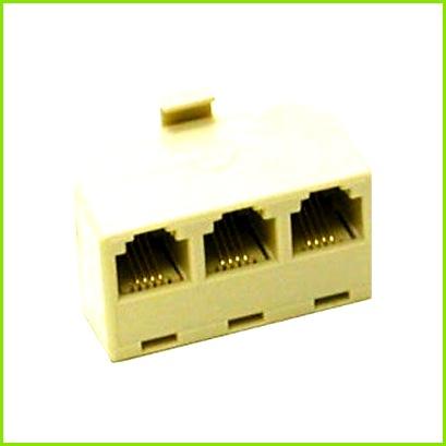 C2G 2 Line Telephone Splitter