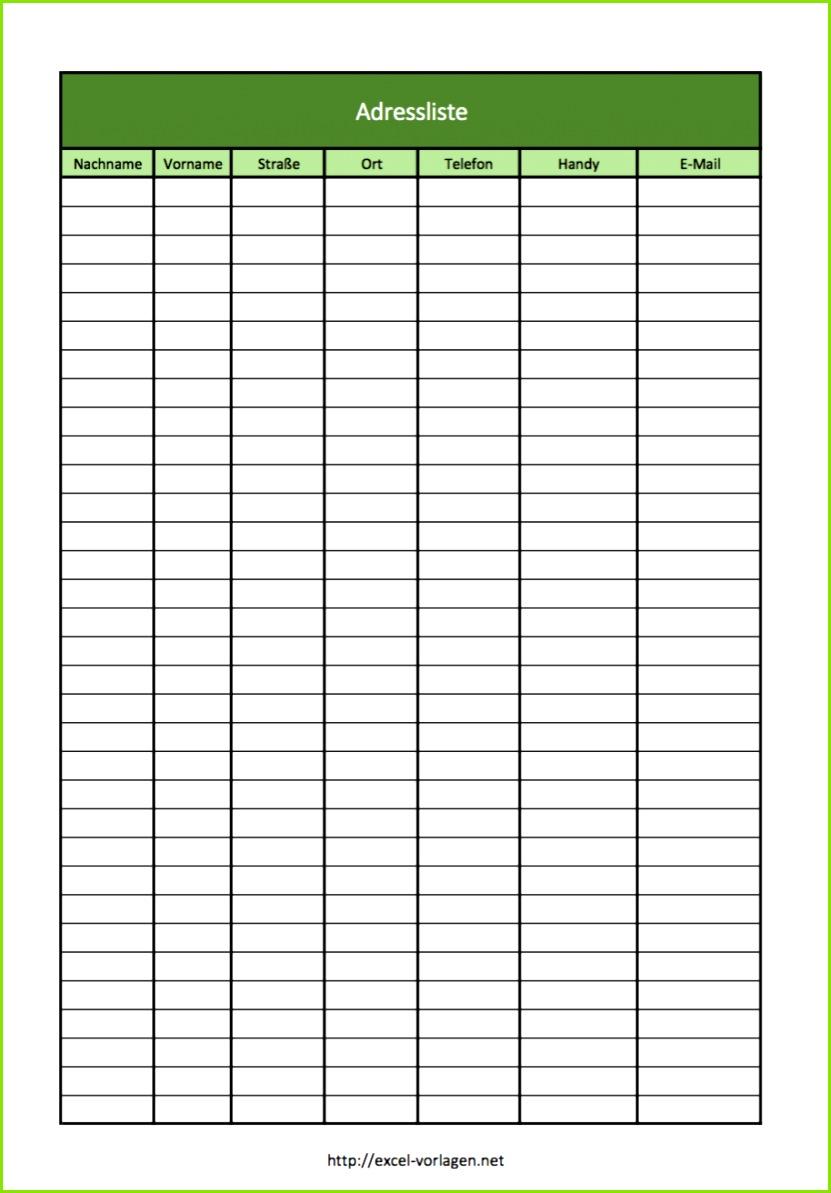 Hier zwei Excel Vorlagen Adressliste und Adressbuch von A Z in der Voransicht
