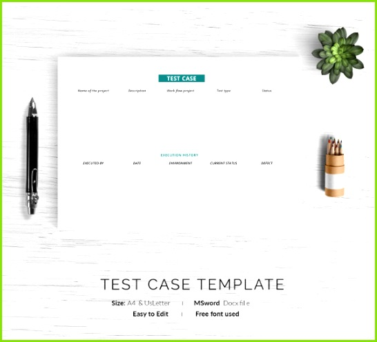 System Test Case Template