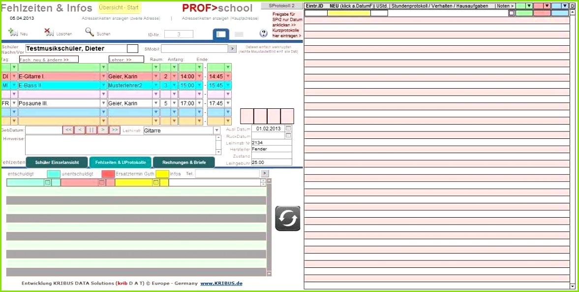 PROF M SCHOOL 6 0d Musikschulverwaltung Musikschulsoftware Musikschule Management fice hier bis 50 Schüler Amazon Software
