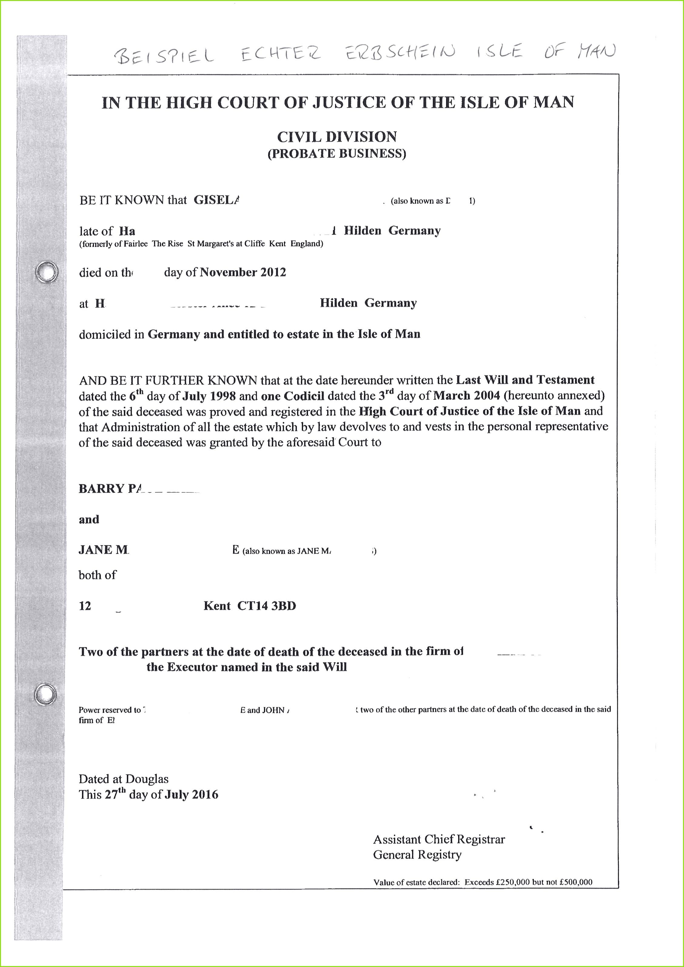 Fantastisch Gericht Affidavit Vorlage Zeitgenössisch Beispiel